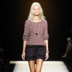 Etoile Isabel Marant Ritchi Knitted Cotton Sweater